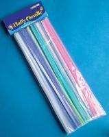 Chlupaté dráty 30 cm pastelové barvy 50 ks ostatní