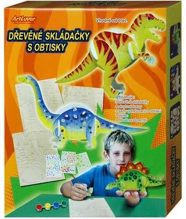 Dřevěné skládačky - dinosauři ArtLover