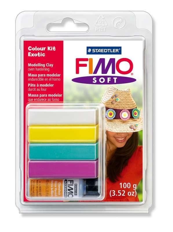 FIMO soft - dárková sada Exotic Staedtler