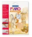 Zvětšit fotografii - Kovové pláty FIMO- stříbrná 7 ks