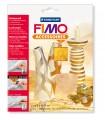 Kovové pláty FIMO - zlatá 7 ks