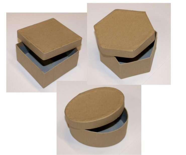 Krabička čtverec 7x7x4 cm ostatní