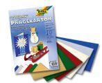 Vytlačovaný papír hvězdy - 10listů mix barev