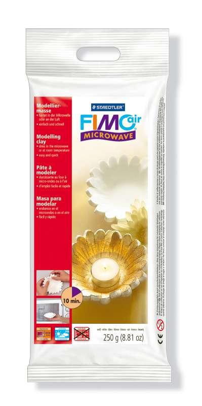 Fimo Air Microwave 250 g bílá - do mikrovlné trouby EberhardFaber