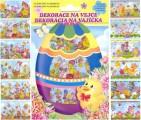 Folie na vajíčka - košilky velikonoční 12 ks AMOS