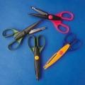 Nůžky konturovací 4ks - různé tvary