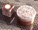 svícen a krabička baroko