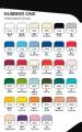 Cernit polymerová hmota 250g - NUMBER ONE základní barvy ostatní