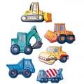 Forma na odlévání mýdla - Stavební auta