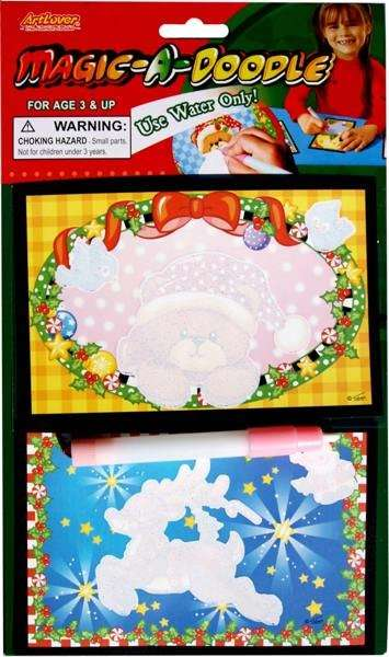 Magické kouzelné malování vánoční - 2 kusy na blistru ArtLover