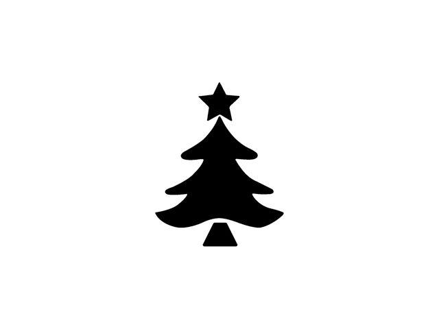 Razidlo (děrovačka, raznice) vánoční stromeček 2,2cm HEYDA