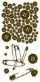 Gelová razítka - Knoflíky 10x20cm