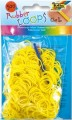 Gumičky Loops - 500ks žlutá