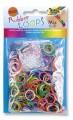 Gumičky Loops - 600ks mix barev