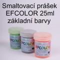 Smaltovací prášek Efcolor - základní barvy 25ml