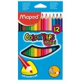 Trojboké pastelky Maped MAXI 12ks