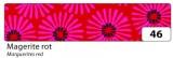 Zvětšit fotografii - Washi Tape - dekorační lepicí páska - 10mx15mm -červená kopretina