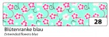 Zvětšit fotografii - Washi Tape - dekorační lepicí páska - 10mx15mm  květy