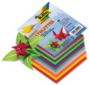 Papíry na skládání Origami - 96 listů 10x10 cm