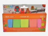 Cernit Neon Light set 5x30g