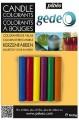 Zvětšit fotografii - Gédéo Barvy na svíčky - 6 barev