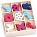 Zvětšit fotografii - Mix filcových dekorací ZAHRADNÍ NÁSTROJE 45 ks