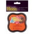 Razítkovací polštářek pigmentový neonový - oranžový