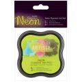Razítkovací polštářek pigmentový neonový - žlutý