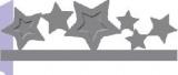 Raznice - hvězdy embosovací