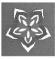 Raznice - Květ 14 embosovací 32mm