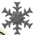 Raznice - vločka III embosovací 32mm