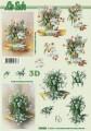 Tulipány váza - 3D papír