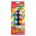 Zvětšit fotografii - Vodové barvy JUMBO 12 barev + štětec