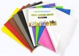 Zvětšit fotografii - Pěnovka moosgummi struktura- A4- sada 10listů mix barev