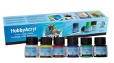 Hobby Acryl matt Starter set 6x20ml