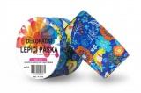 Duct Tape - dekorační lepicí páska - 5m x 48mm - PTÁČKOVÉ V MODRÉ