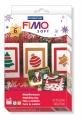 Zvětšit fotografii - FIMO soft - vánoční sada + vytlačovací forma ZDARMA