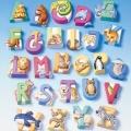 Zvětšit fotografii - Forma - abeceda se zvířátky