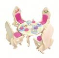 Nábytek pro panenky princezny - jídelna - blistr