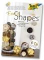 Zvětšit fotografii - Papírové dekorativní koule zlato-hnědé s motivem kavárna