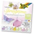 Zvětšit fotografii - Papíry na skládání Origami - jaro 50 listů 15x15 cm
