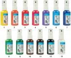 Univerzální akrylátové barvy ve spreji lesklé, základní odstíny 50g