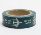 Washi Tape - dekorační lepicí páska - 10mx15mm - BY AIR MAIL