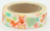 Washi Tape - dekorační lepicí páska - 10mx15mm - DĚTSKÉ