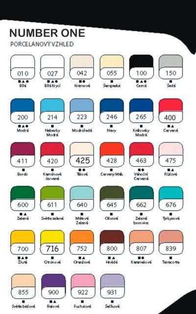 Cernit 56g - NUMBER ONE základní barvy ostatní