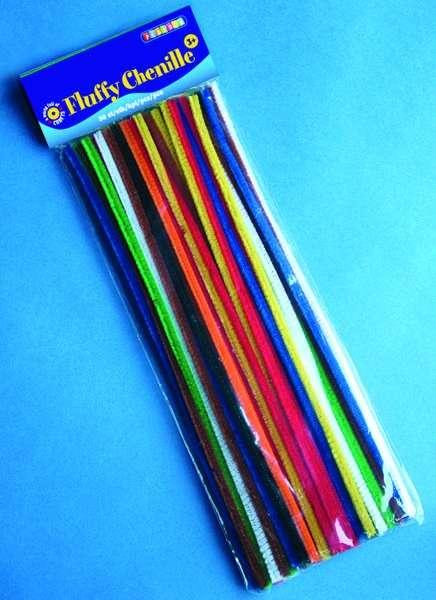 Chlupaté dráty 30 cm základní barvy 50 ks ostatní
