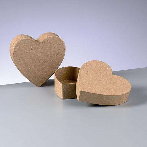 Kabička srdce 10x3cm Efco