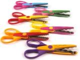 Nůžky konturovací 6ks - různé tvary