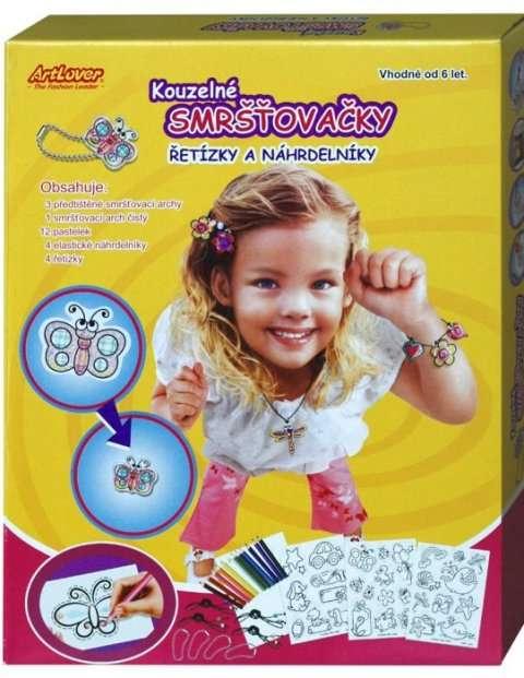 Kouzelné smršťovačky - řetízky a náhrdelníky ArtLover