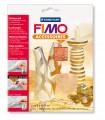 Kovové pláty FIMO - měděná 7 ks